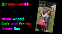Colour Run countdown - It's tomorrow (1).png