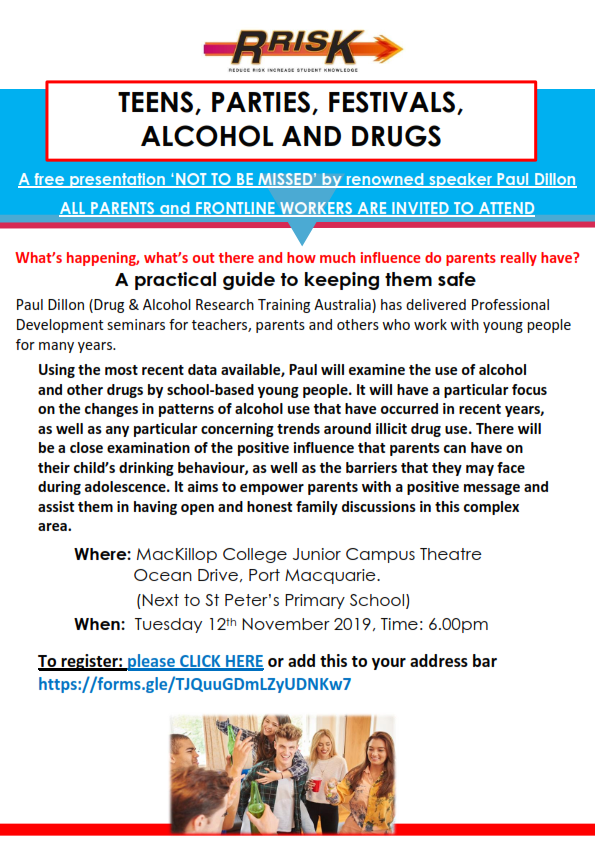 Port Macquarie RRISK Parent forum flyer 2019_001.png